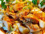 """Kawałki kurczaka smażone z białą kapustą z cyklu """"Kuchnia Zosi"""""""
